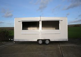 Mobile Temporary Kitchen